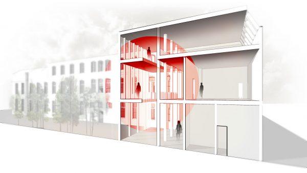 Universiteit Utrecht Masterplan - Hollandse Nieuwe Interieur 01
