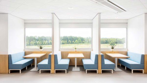 TNO Helmond office interior by Hollandse Nieuwe